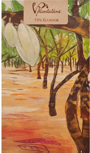 Choklad Vintage Plantations 75% Ecuador 90g