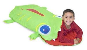 Sovsäck krokodil Melissa & Doug