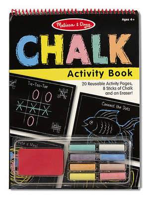 Chalk Activity Book Melissa & Doug Griffeltavelbok