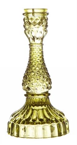 Erbjudande köp 3 betala för 2 - Ljusstakar Affari i Glas Grön, Smoke och Brons