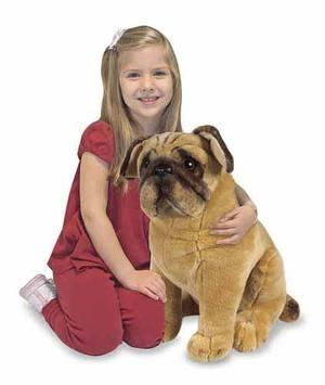 Pug (Mops) hund Melissa & Doug