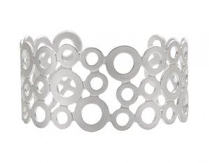Armband Dansk Smykkekunst Leonora Cirklar Silver
