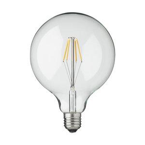 LEDlampa H Skjalm P. 12,5cm 3w E27 Clear